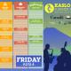 2017 Friday Schedule