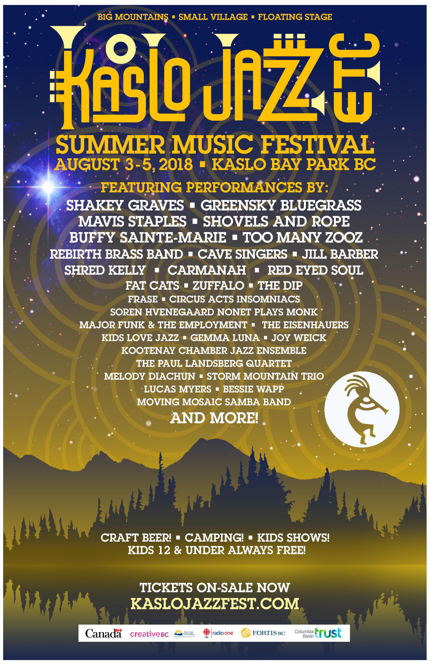 Festival Archive Kaslo Jazz Etc Summer Music Festival